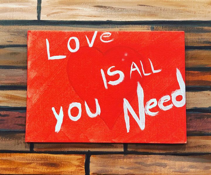 Love is all you need - Chris Dippel