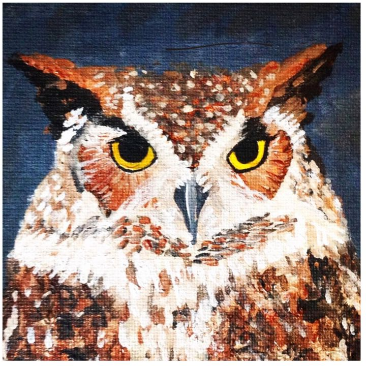 The Great Horned Owl - Chris Dippel