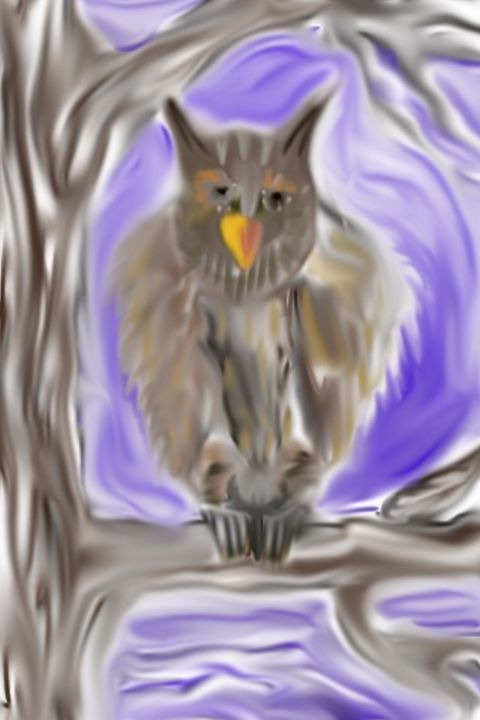 The wise owl - Chris Dippel