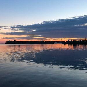 Mirror On Lake Ontario