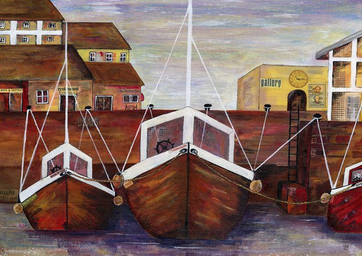 Safe Harbour - Heatherland Original Art
