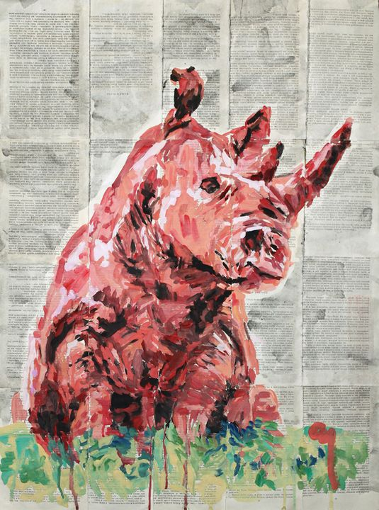 Red Rhino. - Marat Cherny