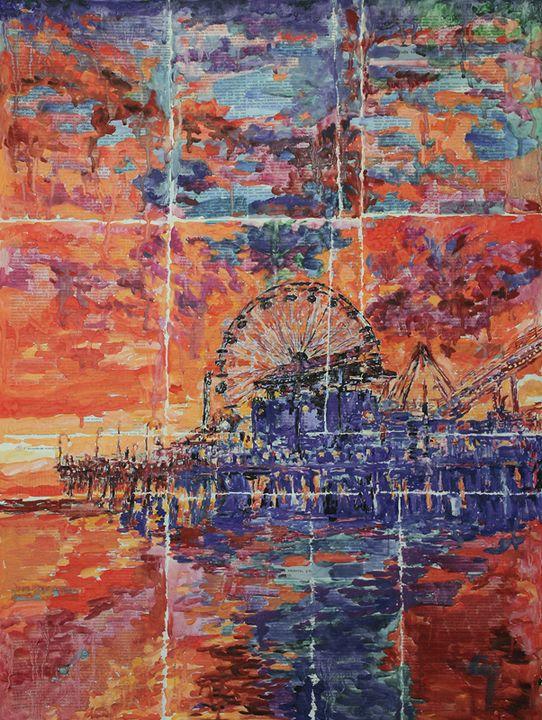 Beach, Vacation And The Sunset. - Marat Cherny