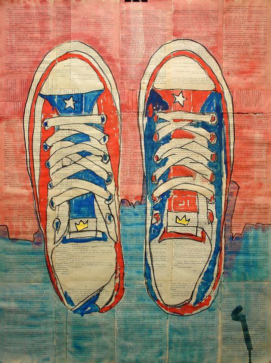 Sneakers. (2019) - Marat Cherny