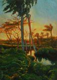 55,5x39cm Oil Painting