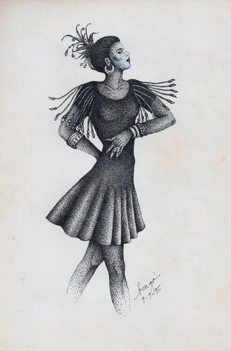 """Ang Mananayaw"" (The Dancer) - Liz Aguilar"