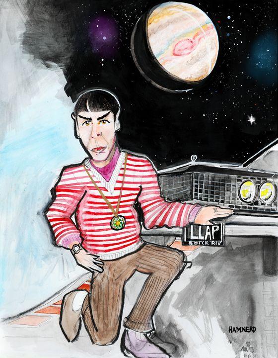 Jupiter Spock - Hamnerd Art