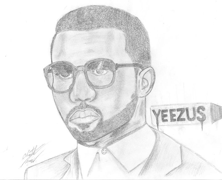 "Kanye ""Yeezus"" - Art work at Random"