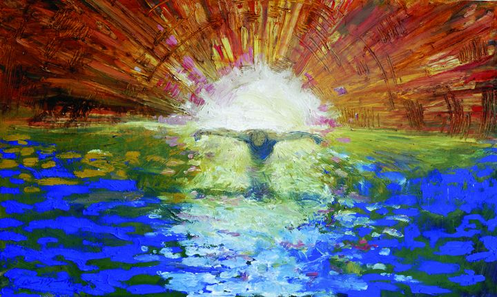 The Baptism of the Christ - The Art of Daniel Bonnell
