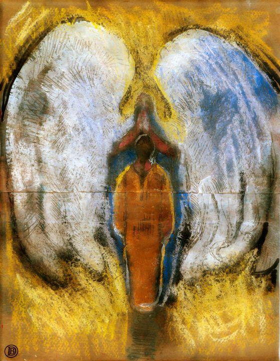 Annunciation #3 - The Art of Daniel Bonnell