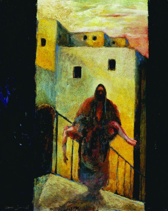 The Good Samaritan - The Art of Daniel Bonnell
