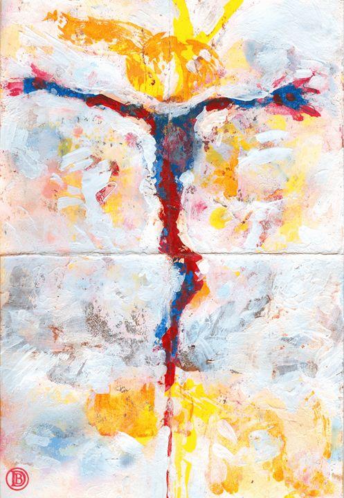Crucifixion Glimpse - The Art of Daniel Bonnell