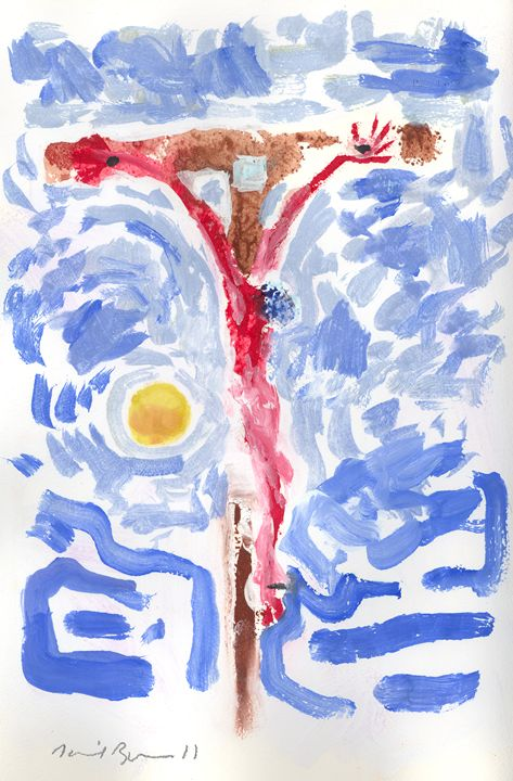 Crucifixion #2 - The Art of Daniel Bonnell