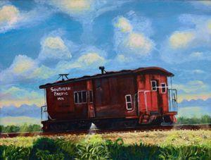 A Lone Rail Car