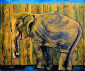 SMILLING ELEPHANT