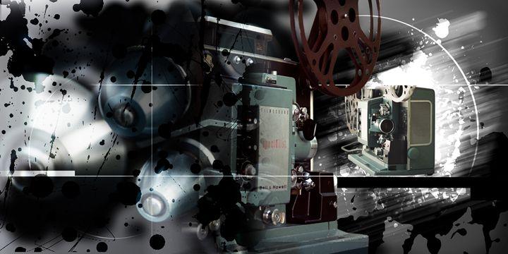 The Old Projector 2009 - Random Art House