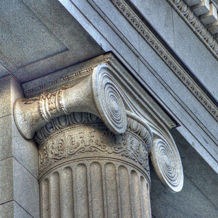 Ecclesiastical Pillar 2010 - Random Art House