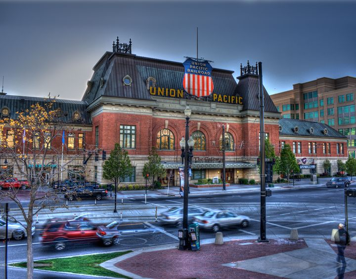 Union Pacific Train Station - Random Art House