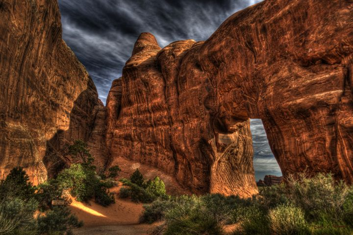 Pine Tree Arch Moab, Utah - Random Art House