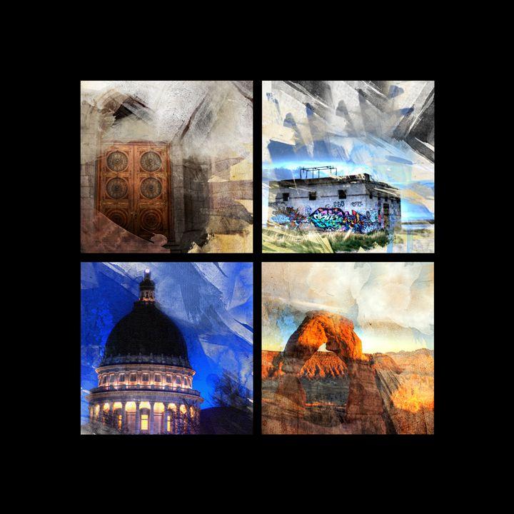 Four Views of Utah - Random Art House