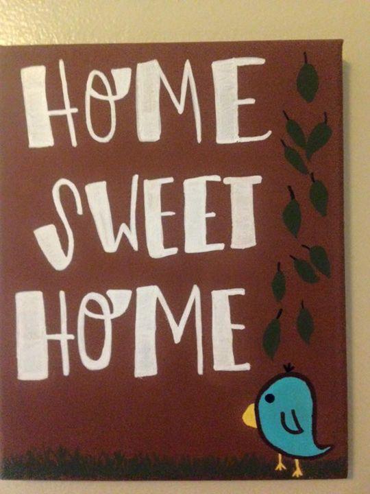 Home Sweet Home - Paintings by Halea