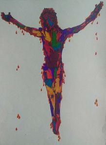 Multicolor Christ Nos.2