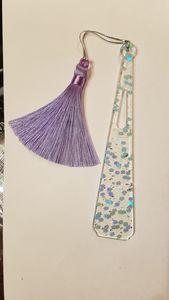 Lilac Iridescent Bookmark