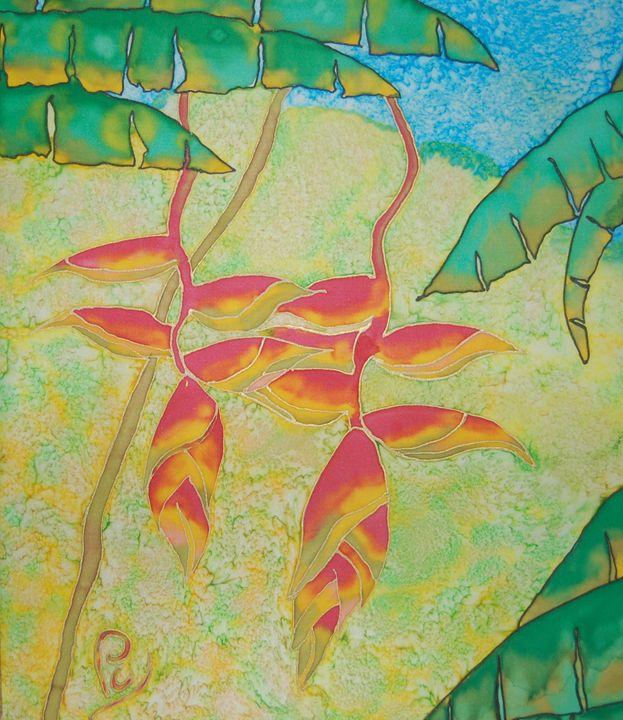 Crabs Claws - Pam Charity Silk Artist