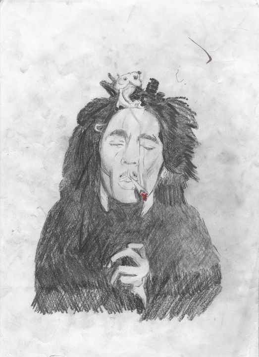 Bob Marley Smoking - Rob Forster
