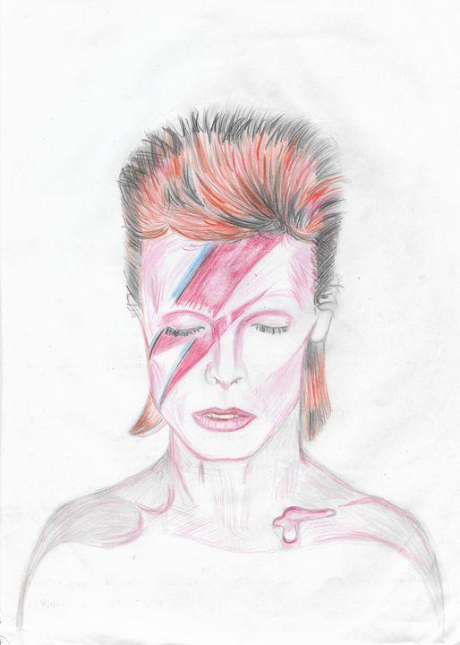 David Bowie - Alladin Sane - Rob Forster