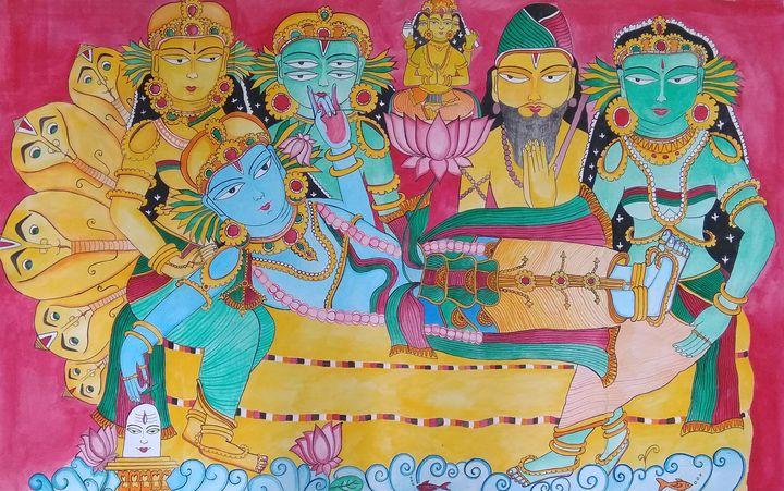 Anantasayanam - Shrabanti Ghosh