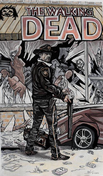 The Walking Dead - Amalia's Artwork