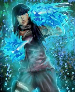 Hinata Hyuuga Queen of the Byakugan