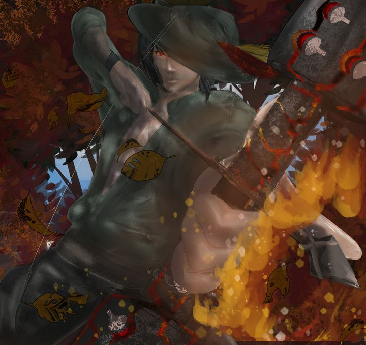 Sasuke Hood! - Venom's Art Gallery