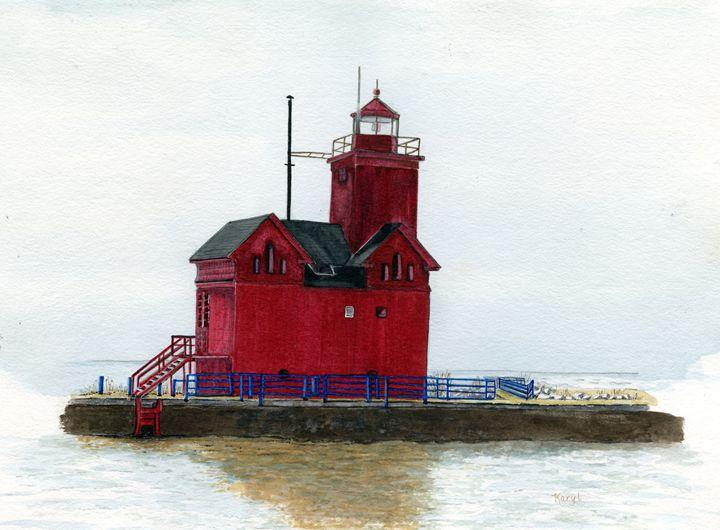 Big Red - Karyl VanDyke Gallery