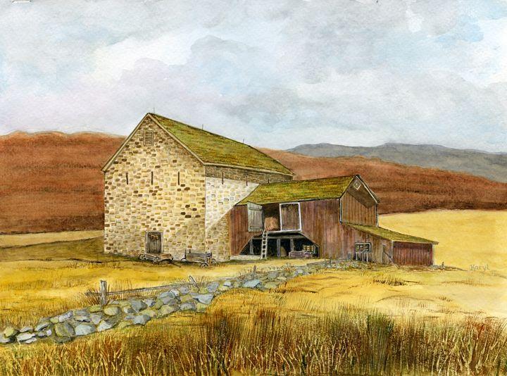 Sunset Farm - Karyl VanDyke Gallery