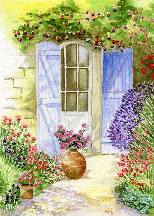 Sunny Backdoor - Karyl VanDyke Gallery