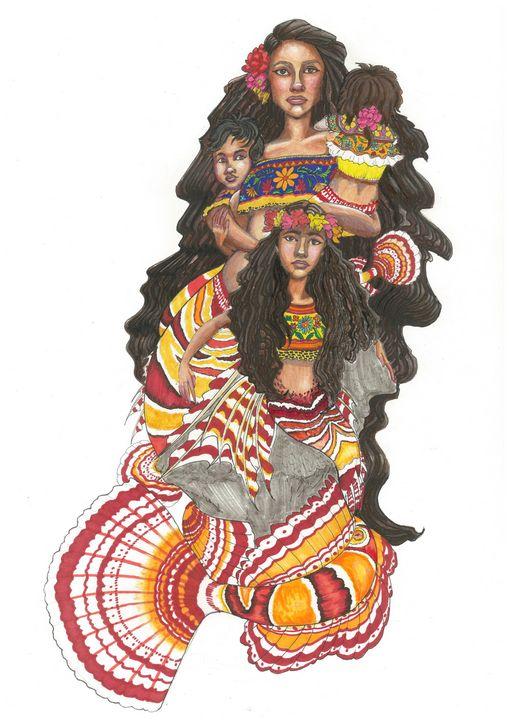 La Sirena Familia - MC Squared Art