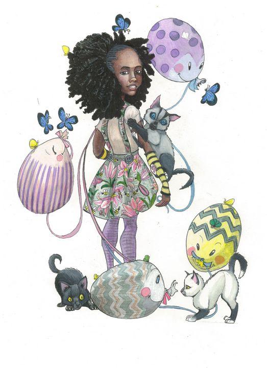 Balloon Friends - MC Squared Art