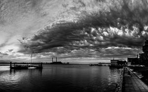 Storm Clouds over Gravesend