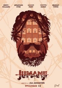 Jumanji Poster - Hey Design