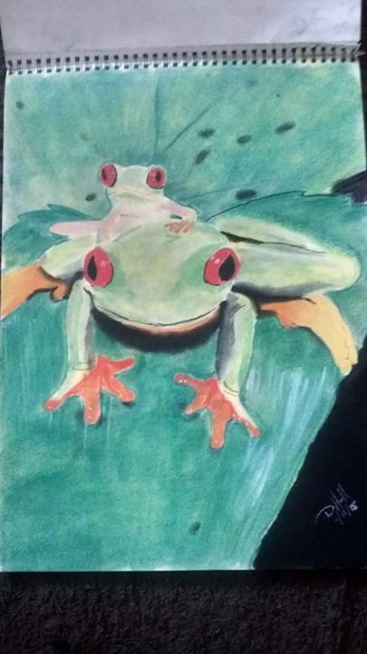 Tree frog - Don's Heart