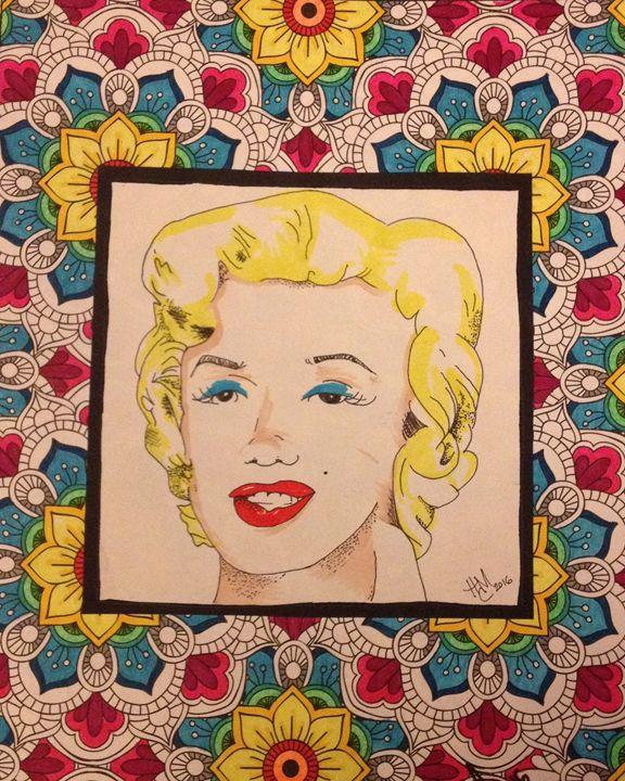 Fancy Face Monroe - Eye Candy Arts