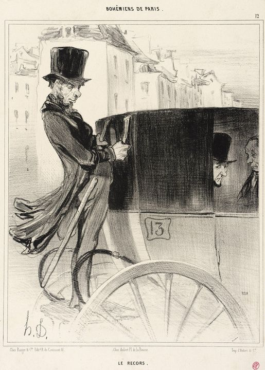 Honoré Daumier~Le Recors - Classical art
