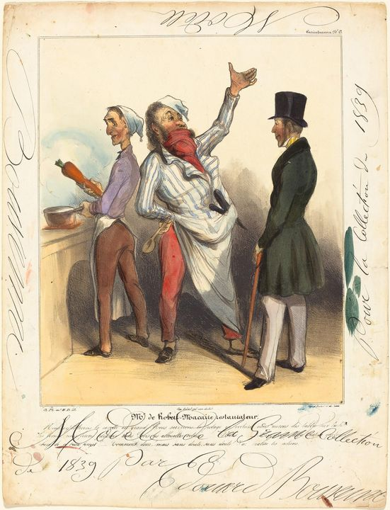 Honoré Daumier~Mr. de Robert Macaire - Classical art