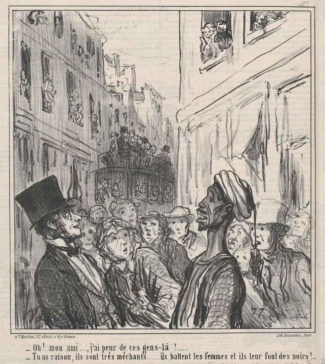 Honoré Daumier~Oh! Mon ami...., j'ai - Classical art