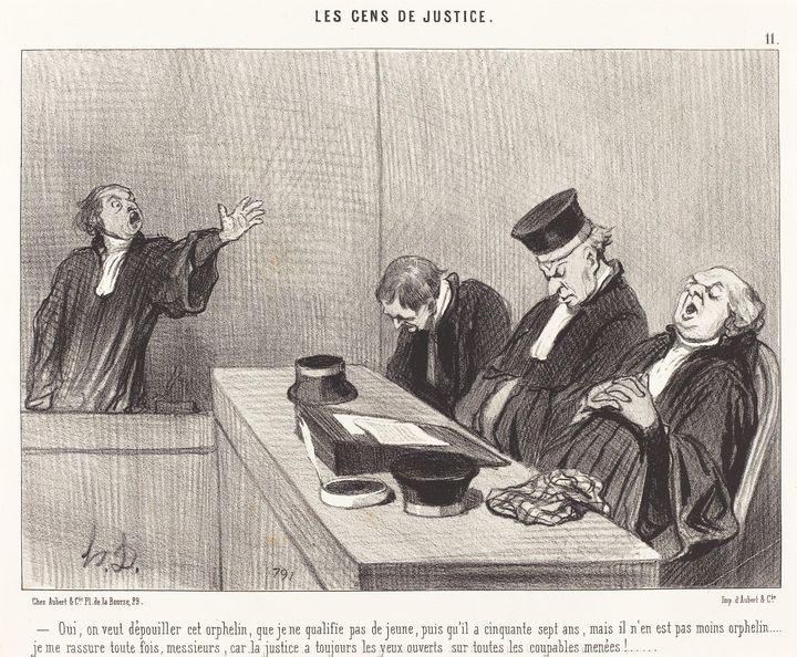 Honoré Daumier~Oui, on veut dépouill - Classical art