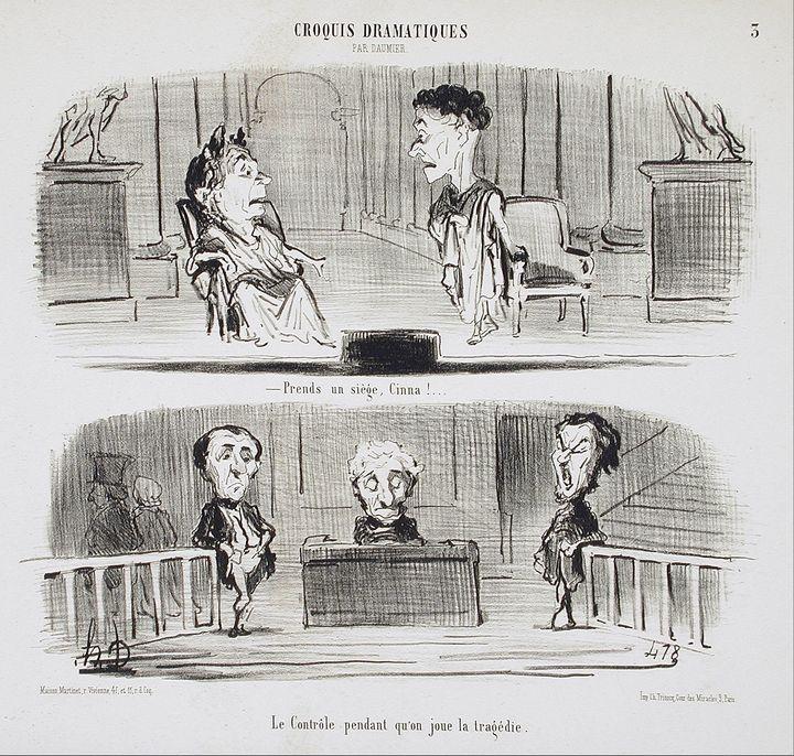 Honoré Daumier~Prends un siège, Cinn - Classical art