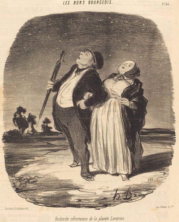 Honoré Daumier~Recherche infructueus - Classical art
