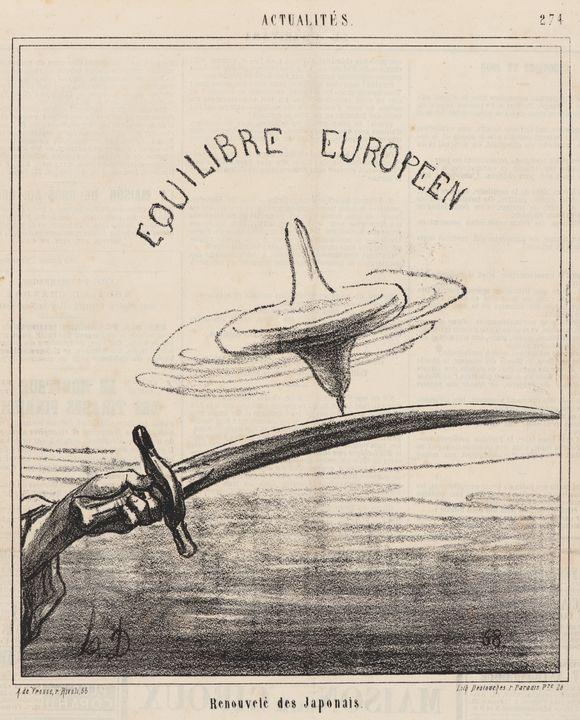 Honoré Daumier~Renovelé des Japonais - Classical art